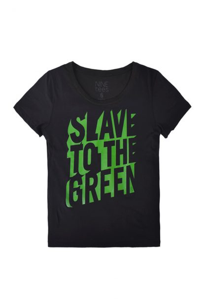 NT010M-SLAVE(black) Tshirt sérigraphié de Créateurs. Made in France. Tee Shirt Rock - Tee Shirt Punk. Nineteesparis.fr