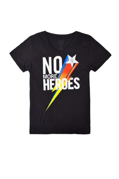 NT011M-MORE(black) Tshirt sérigraphié de Créateurs. Made in France. Tee Shirt Rock - Tee Shirt Punk. Nineteesparis.fr