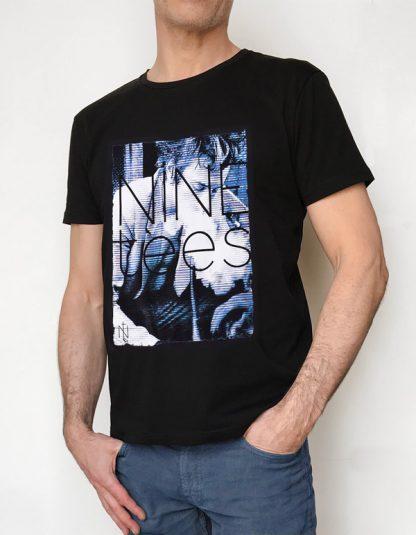 NT015M-FOG(noir) NineteesParis Tshirt sérigraphié -
