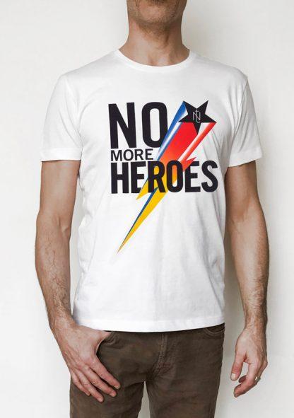 off NT015M-MORE(blanc) NineteesParis Tshirt sérigraphié -