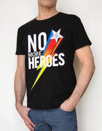off NT015M-MORE(noir) NineteesParis Tshirt sérigraphié -