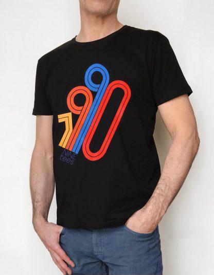 NT015M-TEAM(noir) Tshirt sérigraphié de Créateurs. Made in France. Tee Shirt Rock - Tee Shirt Punk. Nineteesparis.fr
